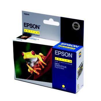 Epson Inktpatroon T0544 - Yellow/Geel (R800/R1800) (origineel)
