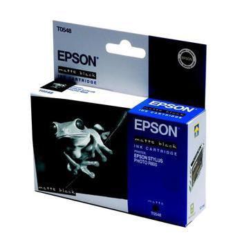 Epson Inktpatroon T0548 - Matte Black/Mat Zwart (R800/R1800) (origineel)