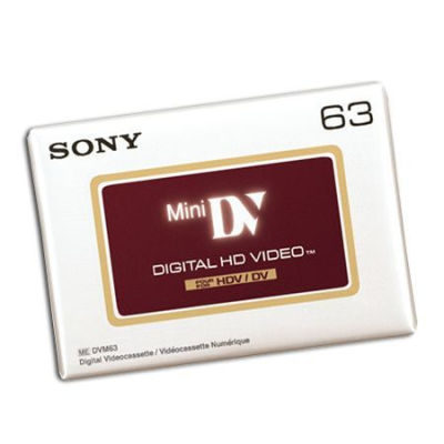 Sony DVM63 HD Mini DV tape 63 minuten
