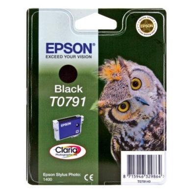 Epson Inktpatroon T0791 - Black/Zwart (R1400) (origineel)