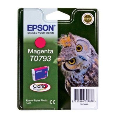 Epson Inktpatroon T0793 - Magenta/Magenta (R1400) (origineel)