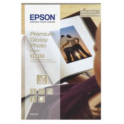 Epson S042153 Premium Glossy Photo Paper 10x15 40 Vel