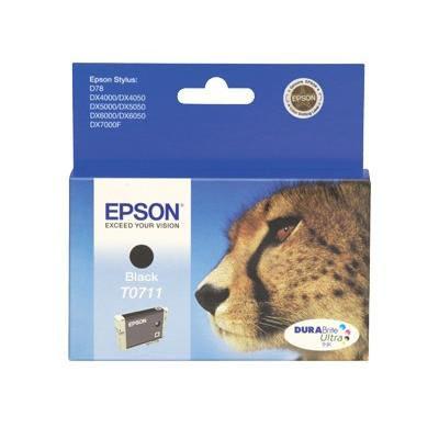 Epson Inktpatroon T0711 Black/Zwart (origineel)