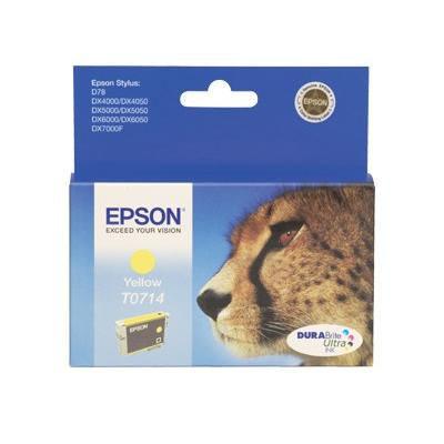 Epson Inktpatroon T0714 Yellow/Geel (origineel)