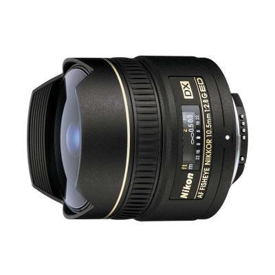 Nikon AF 10.5mm f/2.8G ED DX Fisheye objectief