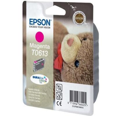 Epson Inktpatroon T0613 Magenta (origineel)