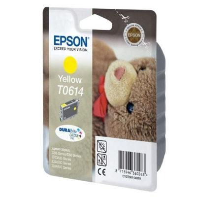 Epson Inktpatroon T0614 Yellow/Geel (origineel)
