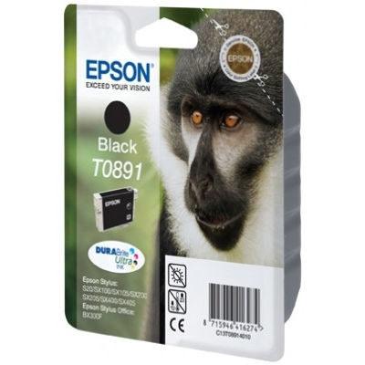 Epson Inktpatroon T0891 Zwart (origineel)