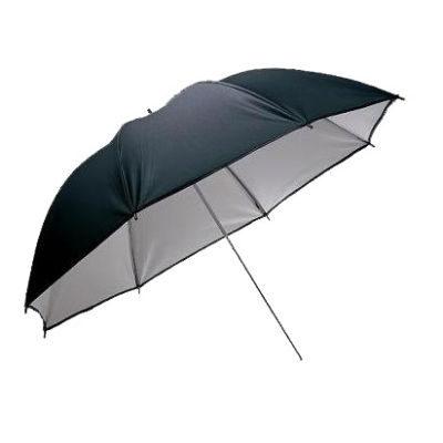 Visico Paraplu UB-002 Zwart/wit 110cm (11746)