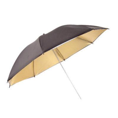 Visico Paraplu UB-006 Zwart/goud 100cm (11747)