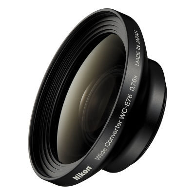 Nikon WC-EC76 Groothoek Converter voor P6000