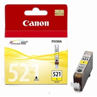 Canon Inktpatroon CLI-521Y - Yellow (origineel)