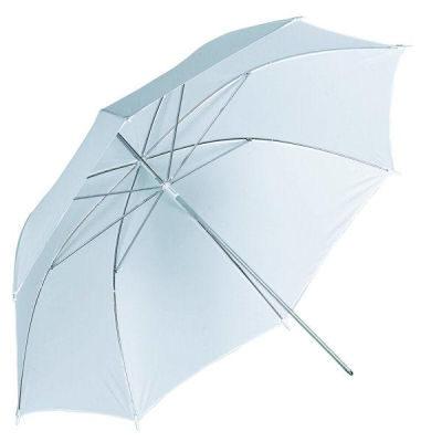 Visico Soft Paraplu UB-001 Wit 110cm  (14823)