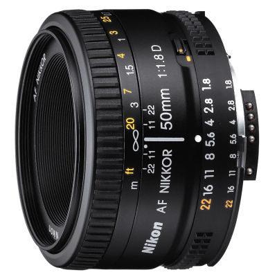 Nikon AF 50mm f/1.8D objectief