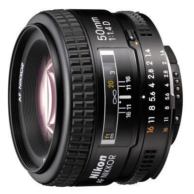 Nikon AF 50mm f/1.4D objectief