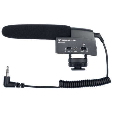 Sennheiser MKE 400 Small Shot Gun-Microfoon