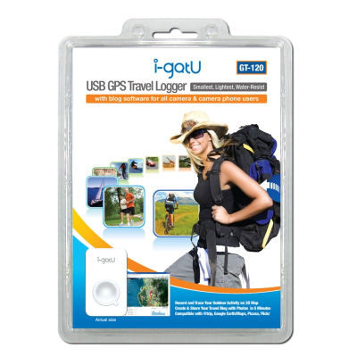 i-gotU GT-120 USB GPS Travel Logger