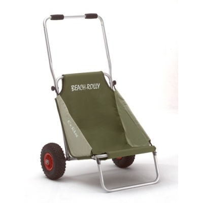 HBN Transport Trolley Eckla (Beach Rolly Olive-Beige)