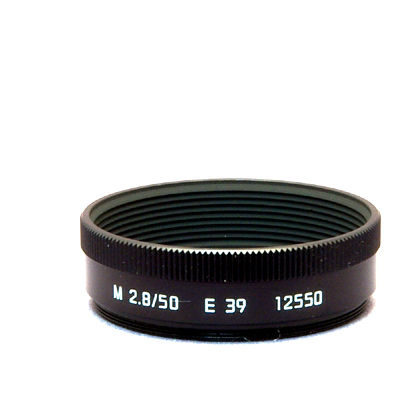 Leica Zonnekap M 50mm f/2.8 Zwart