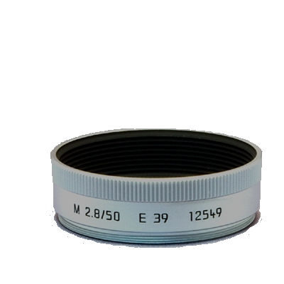 Leica Zonnekap M 50mm f/2.8 Chroom