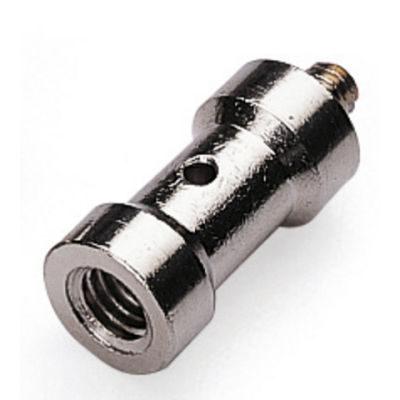 Falcon Eyes Spigot Adapter 1/4 male - 3/8 female (origineel)