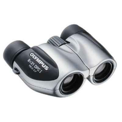Olympus 8x21 DPC I verrekijker Silver incl. case