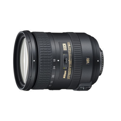 Nikon AF-S 18-200mm f/3.5-5.6G VR IF-ED DX Type II objectief