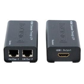 HQ HDMI - HDMI Versterker 60m (via UTP)