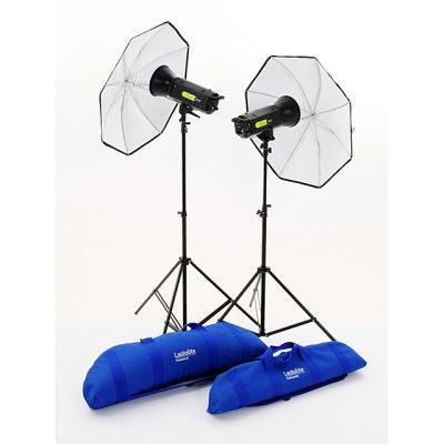 Lastolite Lumen8 F400 Studio Flitsset 400W/Sec