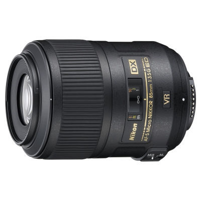 Nikon  AF-S 85mm f/3.5G VR ED DX Micro objectief