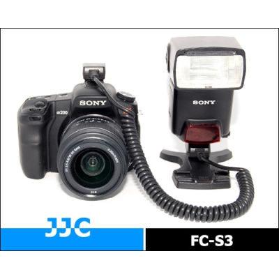 JJC FC-S3 Off-Camera cord voor Sony Alpha/Sony Flitser