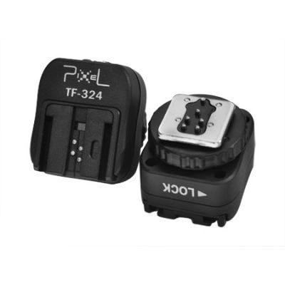 Pixel Hotshoe converter Nikon/Canon to Sony TF-324