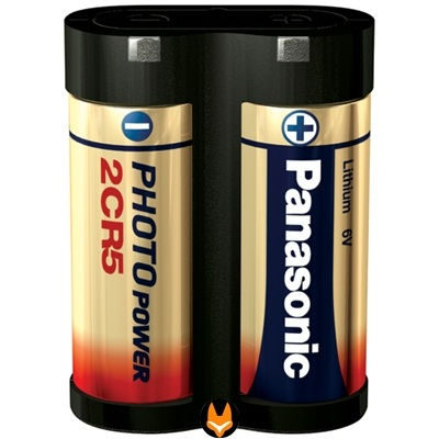 Panasonic 2CR5 Lithium Photo batterij