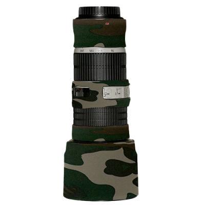 LensCoat voor Canon 70-200 IS f/4 Legergroen