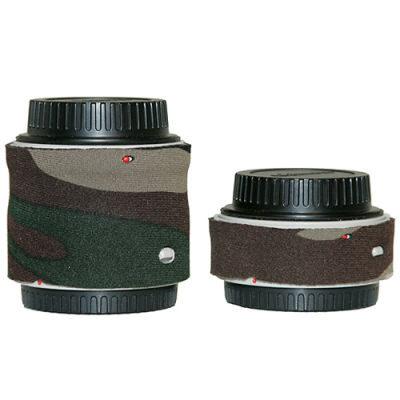 LensCoat voor Canon Extender Set II Legergroen