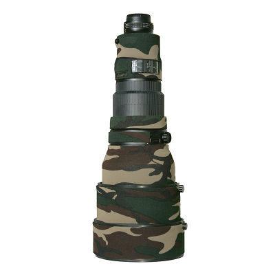 LensCoat voor Nikon 400 AFS II Legergroen