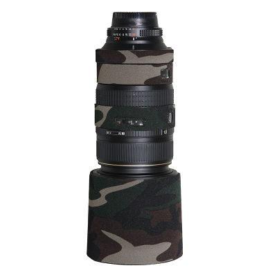 LensCoat voor Nikon 80-400 VR Legergroen