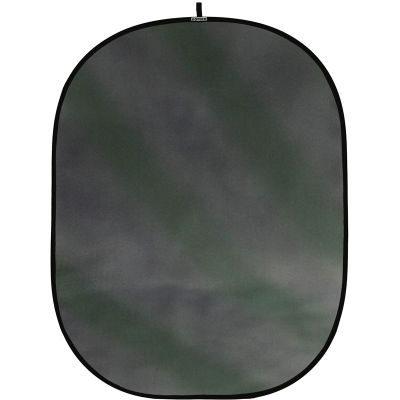 Botero Opvouwbare Achtergrond 150 x 200cm (Streaked Green, Grey nr.020)