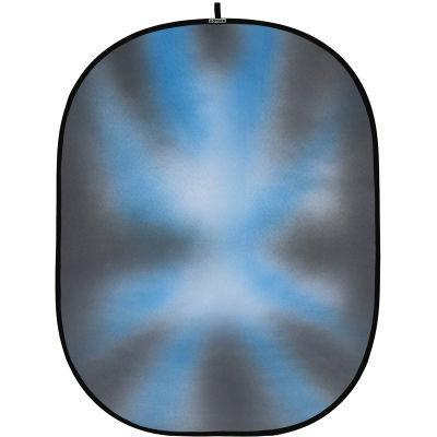 Botero Opvouwbare Achtergrond 150 x 200cm (Grey, Blue, White nr.030)