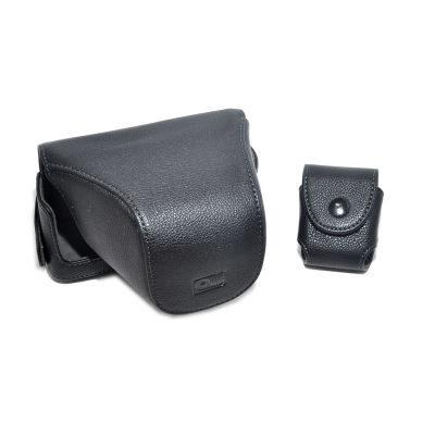 ONE OC-EP1B Leathercase Zwart voor de Olympus E-P1 en E-P2