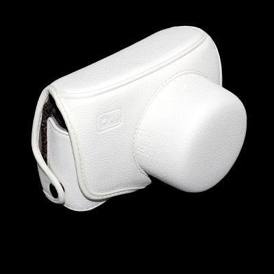 ONE OC-EP1X Leathercase Wit voor de Olympus E-P1 en E-P2