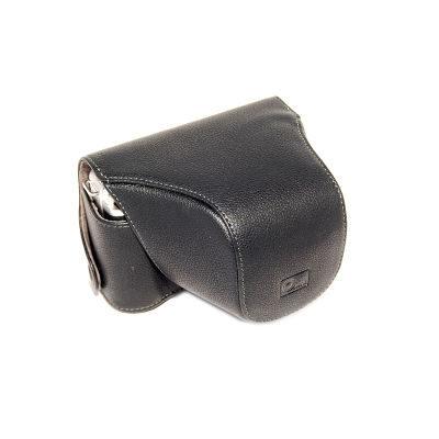 ONE OC-EPL1B Leathercase Zwart voor de Olympus E-PL1