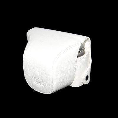 ONE OC-EPL1W Leathercase Wit voor de Olympus E-PL1