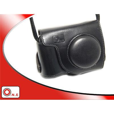 ONE OC-P6000B Leathercase voor Nikon P6000