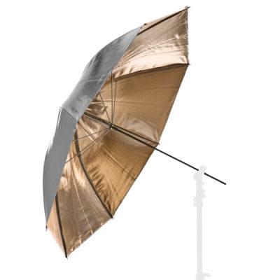 Lastolite Omkeerbare Paraplu 100cm Sunfire/Zilver