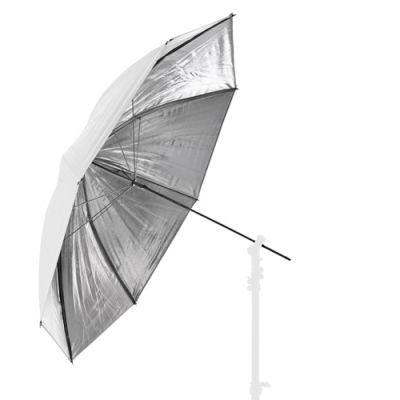 Lastolite Omkeerbare Paraplu 100cm Zilver/Wit