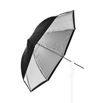 Lastolite Tweezijdige Paraplu 80cm Zilver/Wit/Zwart