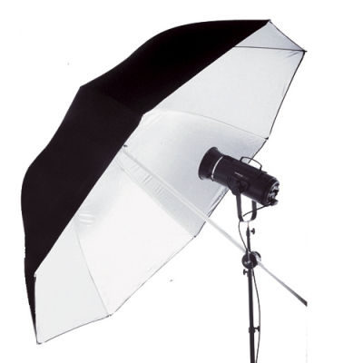 Lastolite Jumbo Paraplu 200cm Zwart/Wit