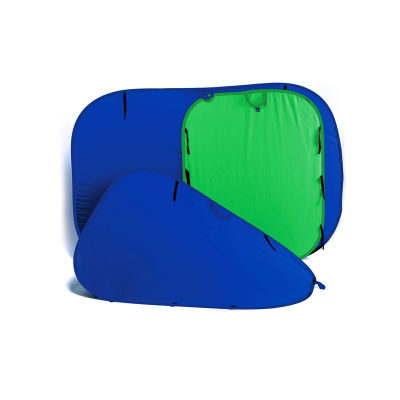 Lastolite Chroma key Blauw 180x210cm