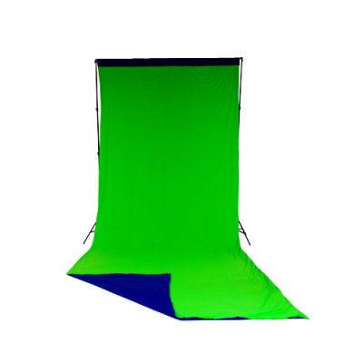Lastolite Chroma key Scherm Blauw/Groen 300x700cm